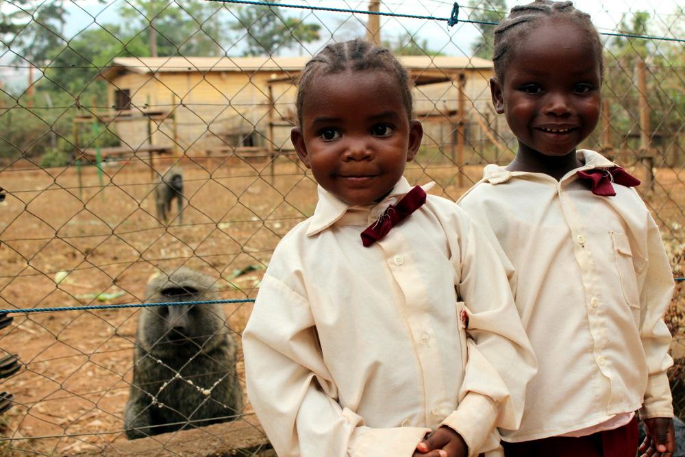Nasze najmłodsze ślicznotki. Afryka. Kamerun