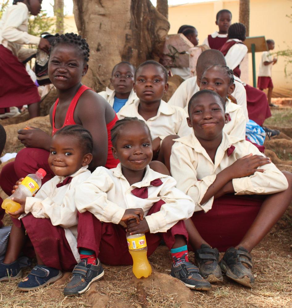 Odpoczywamy.Kamerun.Afryka