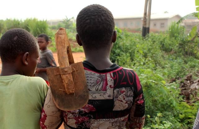 Tradycyjna kameruńska motyka