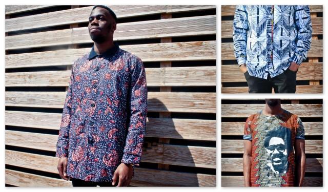 Wspólczesne ubrania męskie, uszyte dla europejskiego konsumenta. Koszt 50-60 euro, czyli ok. 5 razy wyższy niż w Kamerunie. Zdjęcie ze strony
